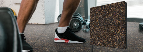 Stride Fitness Tiles - Stop Sound in its Tracks Banner Image